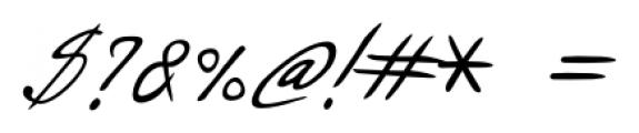 Danielle Handwriting Regular Font OTHER CHARS
