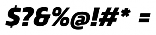 Danos Bold Italic Font OTHER CHARS