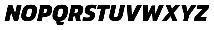 Danos Bold Italic Font UPPERCASE