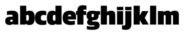 Danos ExtraBold Font LOWERCASE