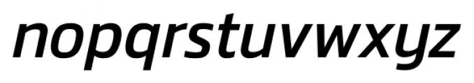 Danos Italic Font LOWERCASE