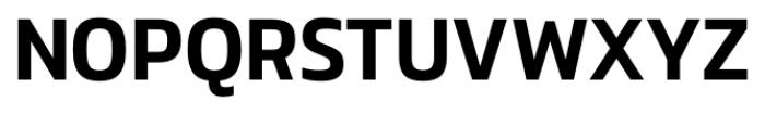 Danos Medium Font UPPERCASE