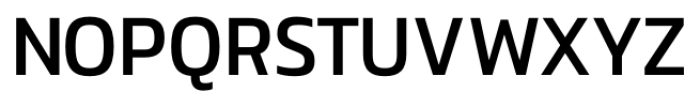 Danos Regular Font UPPERCASE