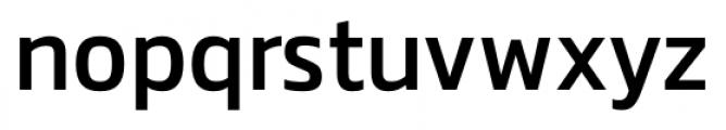 Danos Regular Font LOWERCASE