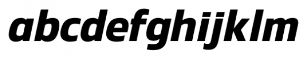 Danos SemiBold Italic Font LOWERCASE