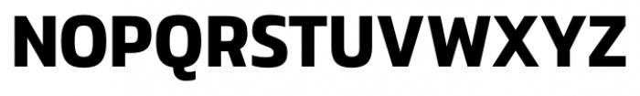 Danos SemiBold Font UPPERCASE