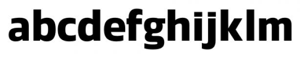 Danos SemiBold Font LOWERCASE