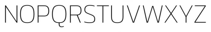 Danos Thin Font UPPERCASE