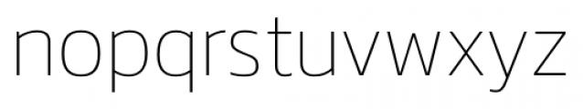 Danos Thin Font LOWERCASE