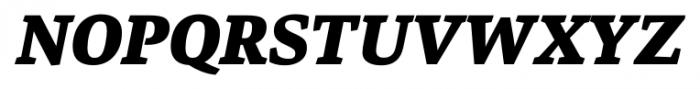 Danton Black Italic Font UPPERCASE