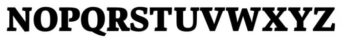 Danton Black Font UPPERCASE