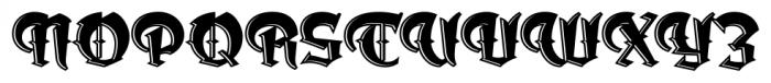 Dark Angel Underlight Font UPPERCASE
