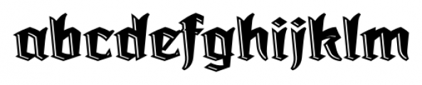 Dark Angel Underlight Font LOWERCASE