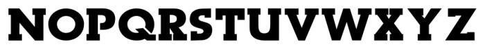 Dark Moon Serif Bold Font UPPERCASE