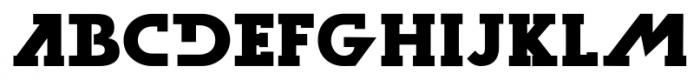 Dark Moon Serif Bold Font LOWERCASE
