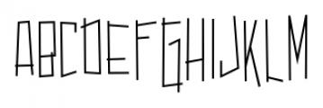 Dastardly Deeds SRF Regular Font UPPERCASE