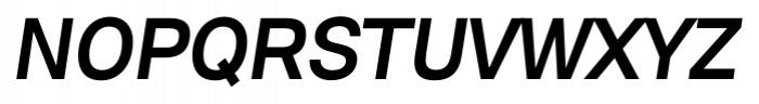 David Medium Italic Font UPPERCASE