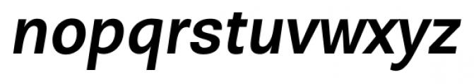 David Medium Italic Font LOWERCASE