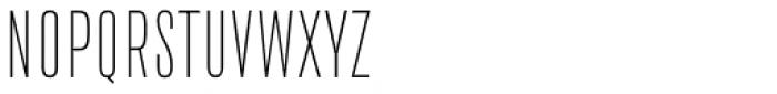 Da Bronx Sans Extra Light Font UPPERCASE