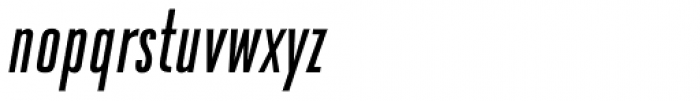 Da Bronx Sans Regular Italic Font LOWERCASE