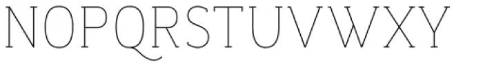 Dada Slab Pro ExtraLight Font UPPERCASE