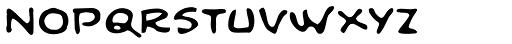 Dai Vernon Direct Font LOWERCASE