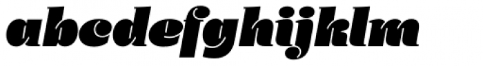 Daisy Kursiv Font LOWERCASE