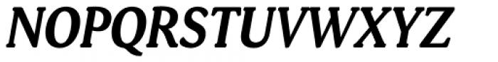 Daito Condensed Bold Italic Font UPPERCASE