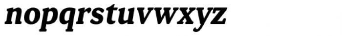Daito Condensed Bold Italic Font LOWERCASE