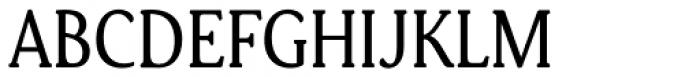 Daito Condensed Regular Font UPPERCASE