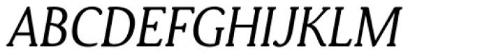 Daito Normal Book Italic Font UPPERCASE