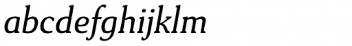 Daito Normal Book Italic Font LOWERCASE