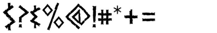 Dalek Light Font OTHER CHARS