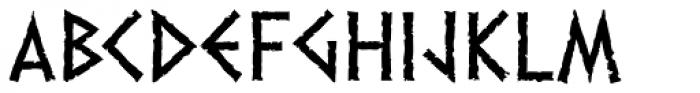 Dalek Light Font UPPERCASE