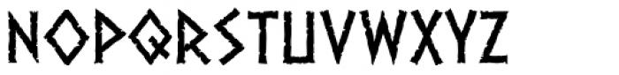 Dalek Light Font LOWERCASE