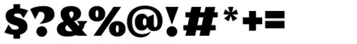 Dallas Print Shop Serif Bold Font OTHER CHARS