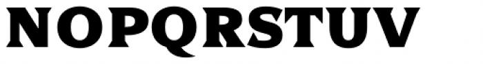 Dallas Print Shop Serif Bold Font LOWERCASE