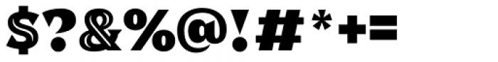 Dallas Print Shop Serif Inline Font OTHER CHARS