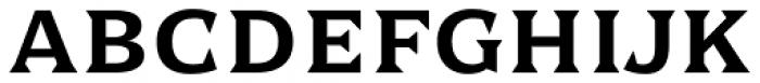Dallas Print Shop Serif Regular Font LOWERCASE