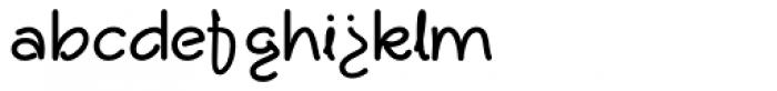 Dallas Font LOWERCASE