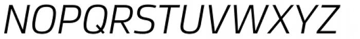 Dalle Display Light Italic Font UPPERCASE