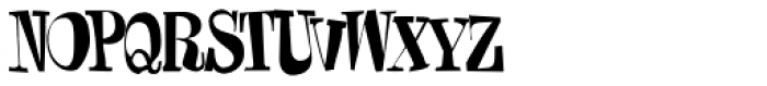 Damage Control Font UPPERCASE