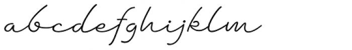 Dambera Font LOWERCASE