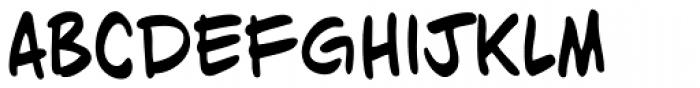 Dan Panosian Bold Font LOWERCASE