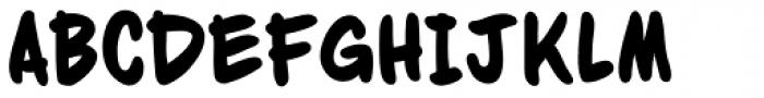 Dan Panosian Heavy Font UPPERCASE