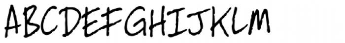 Dan Panosian Light Font UPPERCASE