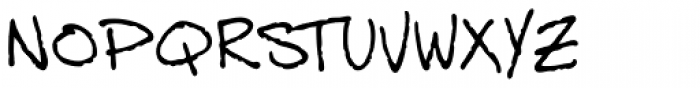 Dan Panosian Light Font LOWERCASE