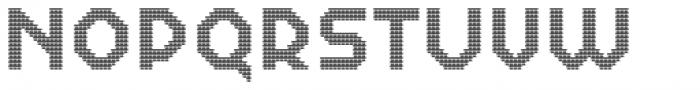 Dance Floor Bricks Font UPPERCASE