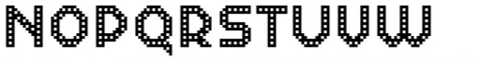 Dance Floor Building Font UPPERCASE