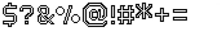 Dance Floor Inline Font OTHER CHARS
